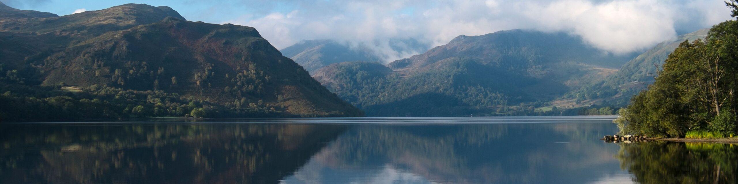 Ullswater, Cumbria - lake and mountain