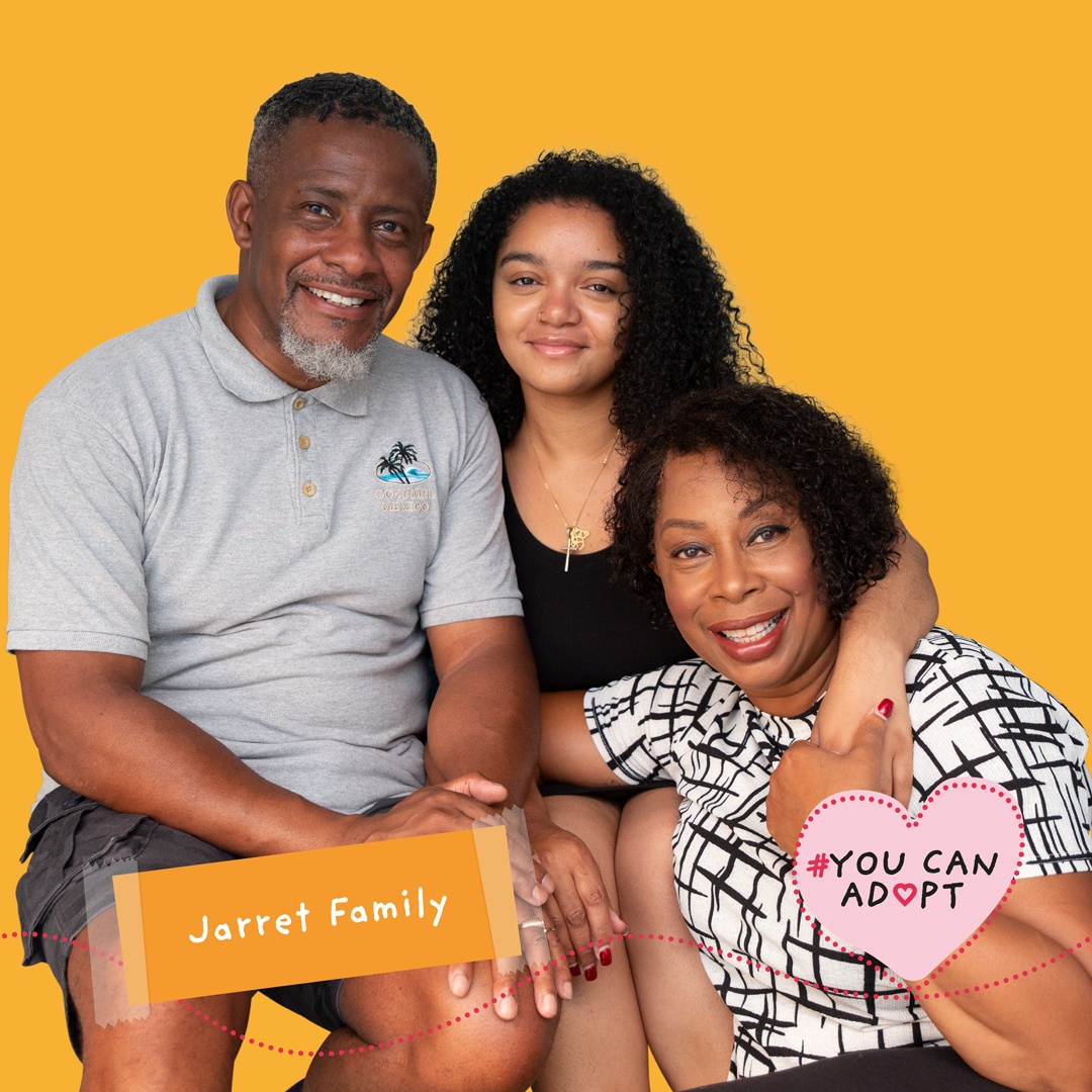 YouCanAdopt black adopters campaign image